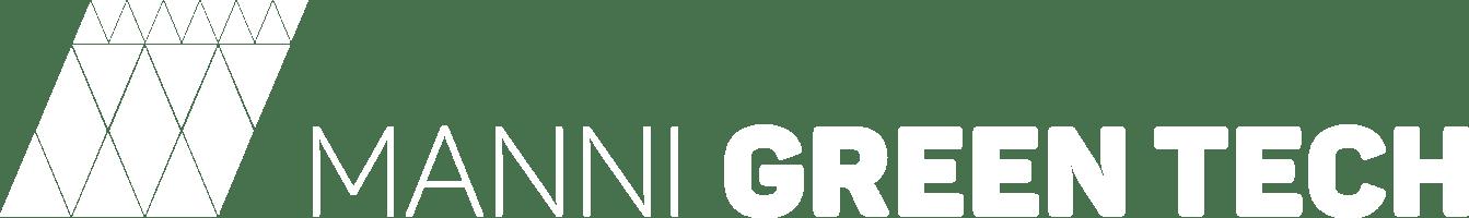 Manni Green Tech - Logo White